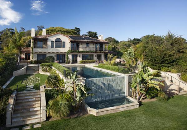 New oceanfront listing hope ranch for New house santa barbara