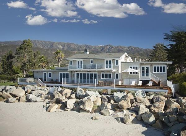 849 Sand Point Road, a Santa Barbara beachfront home