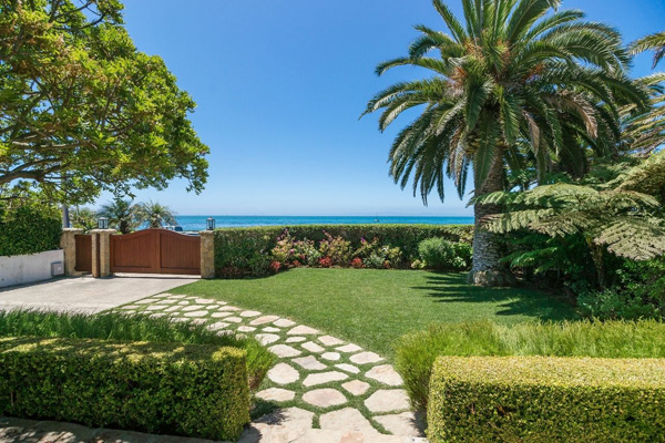 1130 Channel Drive ocean view, a beach home on Butterfly Beach in Montecito