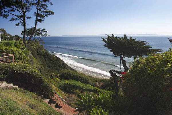 2345 Edgewater Way Whitewater view, an ocean front home in Santa Barbara