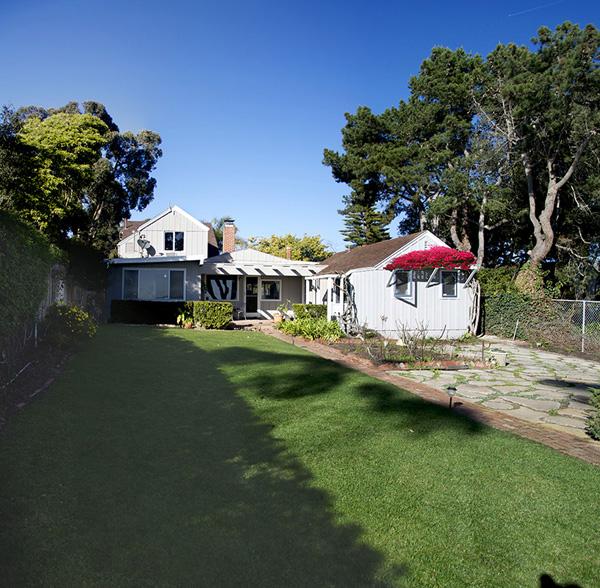 2345 Edgewater Way exterior, an oceanfront home in Santa Barbara
