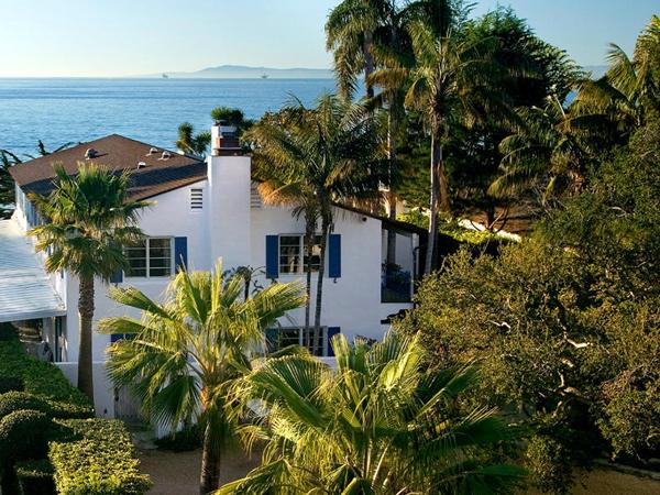 1787 Fernald Point Lane, a beachfront home in Montecito