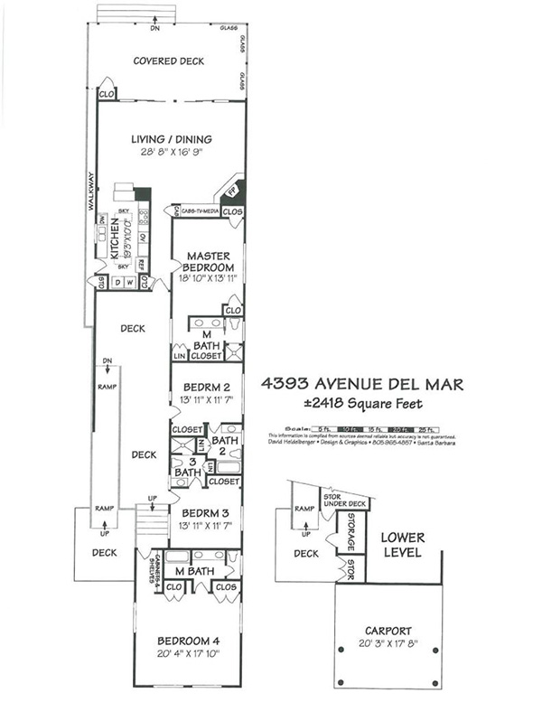 4393 Avenue Del Mar floorplan