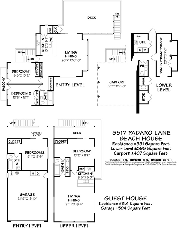 3517 Padaro Lane Floor Plan