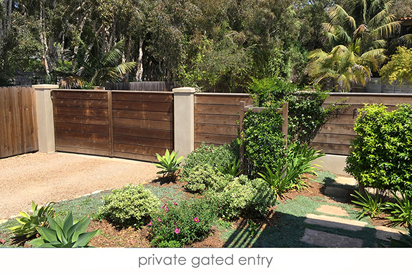 20_3447 Padaro Lane Front gate