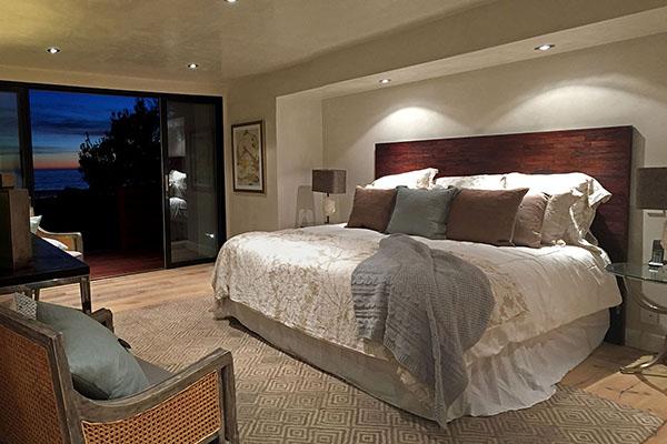 06_3447 Padaro Lane master bedroom at night