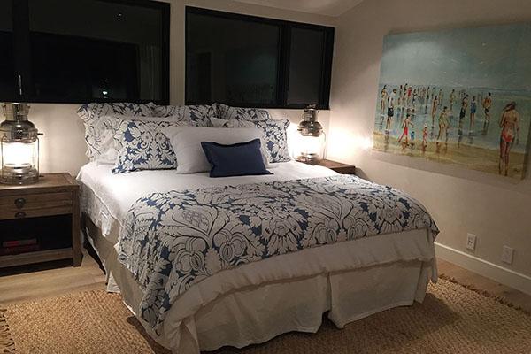 08_3447 Padaro Lane upstairs bedroom at night