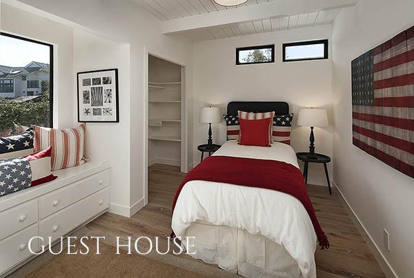 3447 Padaro Lane guest house bedroom 2