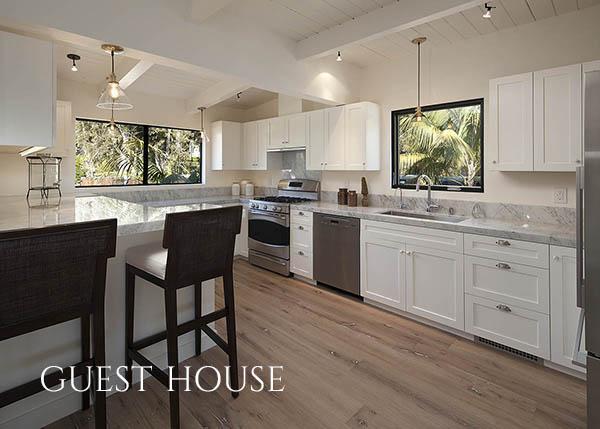 3447 Padaro Lane guest house kitchen