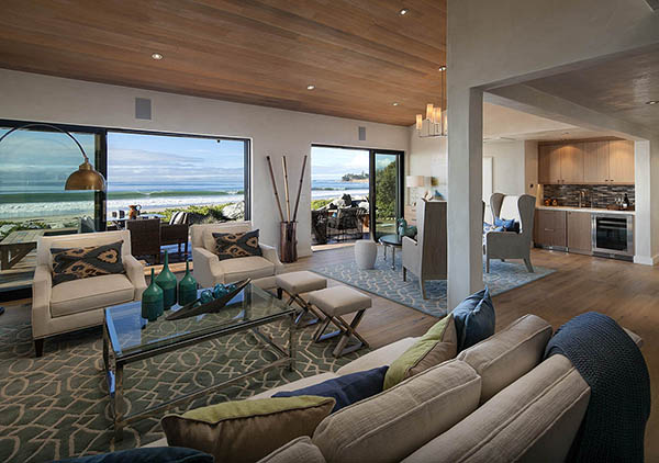 3447 Padaro Lane living room doors open
