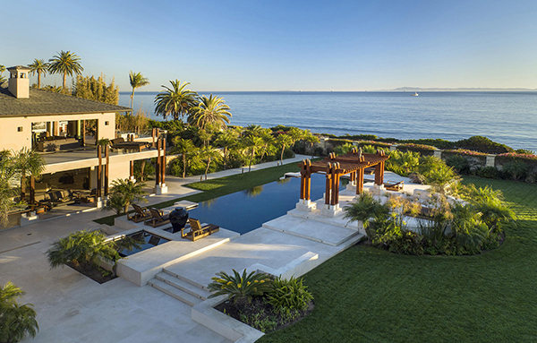 1104 Channel Drive, an oceanfront home in Santa Barbara