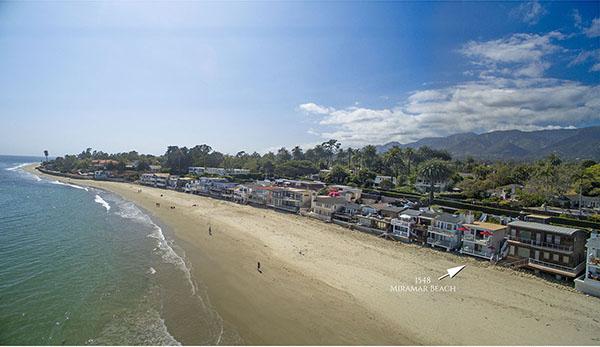 23_1548 Miramar Beach aerial up beach