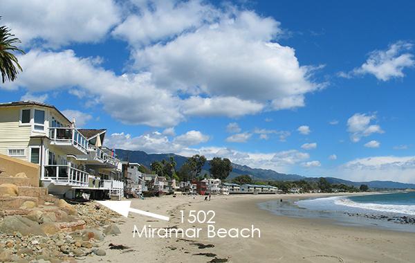 New Montecito Beachfront Listing 1502 Miramar Beach